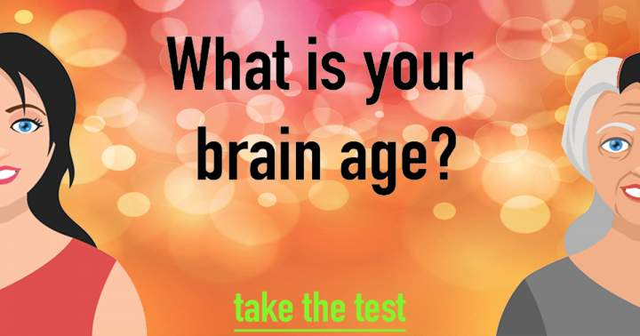 10 Questions To Test The Age Of Your Brain